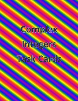 Complex Integers Task Cards