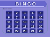 Complex Number Bingo