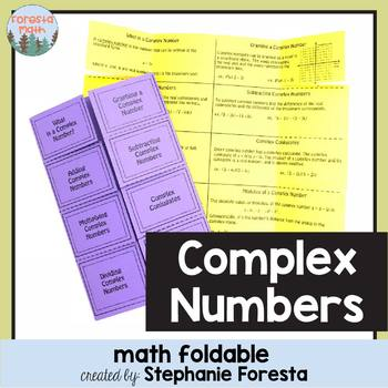 Complex Number Foldable