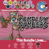 Complex Numbers -- Algebra 2 Curriculum -- Essential Unit Bundle