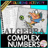 Simplifying Complex Numbers Coloring Activity