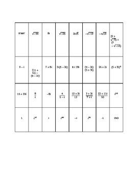 Complex Numbers Dominoes