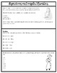 Complex Numbers Introduction Notes {Algebra, Precalculus, or Geometry}