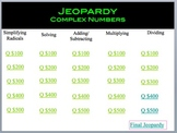 Complex Numbers Jeopardy