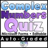 Complex Numbers Mini Quiz
