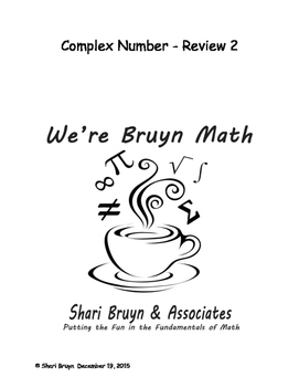 Complex Numbers - Review 2