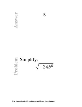 Complex Numbers Trail
