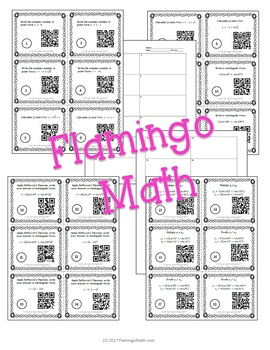 Complex Numbers in Polar Form Task Cards with QR Codes