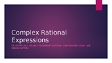 Complex Rational Expressions Powerpoint