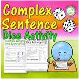 Complex Sentence Activity Worksheet