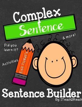 Complex Sentence Builder