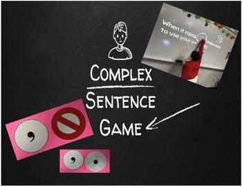 Complex Sentence Game