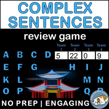 Complex Sentences Bomb Game