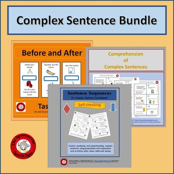Complex Sentences Bundle for Development and Comprehension