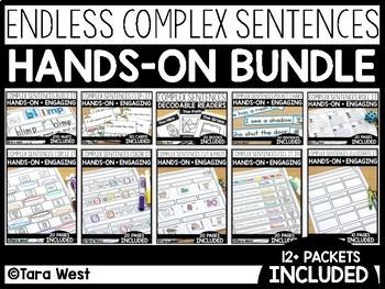 Complex Sentences ENDLESS MEGA Bundle