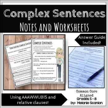 Complex Sentences Handouts