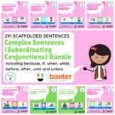 Complex Sentences (Subordinating Conjunctions) Bundle