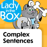 Complex Sentences with Dr. Lola - Boom Cards