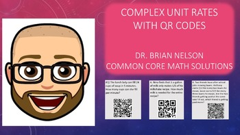 Complex Unit Rates with QR Codes