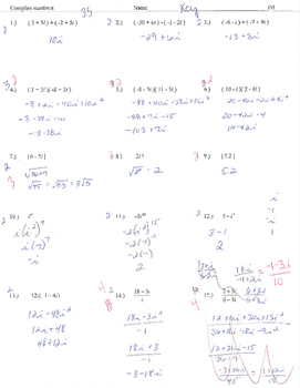 Complex numbers review i add subtract multiply absolute value
