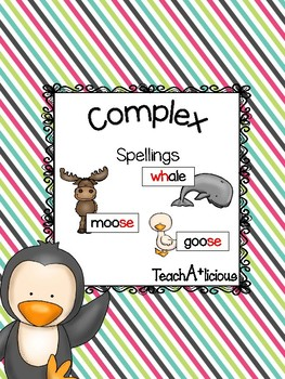 Complex spellings