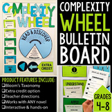 Complexity Wheel Interactive Bulletin Board for ANY Novel: