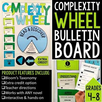 Complexity Wheel Interactive Bulletin Board for ANY Novel: