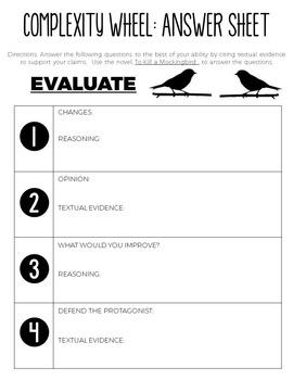 Complexity Wheel: To Kill a Mockingbird
