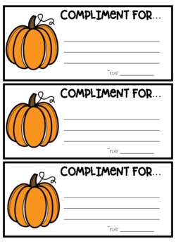 Compliment Book
