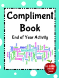 End of Year Compliment Book or Memory Book SEL
