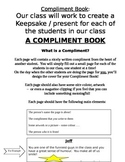Compliment Book Instructions