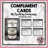 Compliment Cards - For Building Class Community