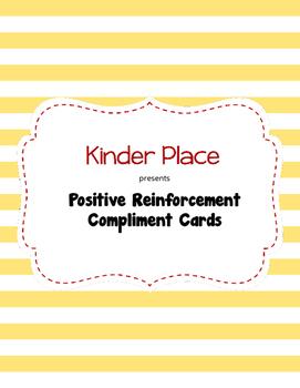 Compliment Cards - Positive Reinforcement