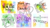 Compliment Cards for Students- Color