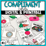 Compliment Cards for Students | Digital and Printable