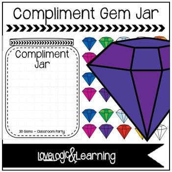 Compliment Gem Jar