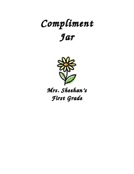 Compliment Jar Label