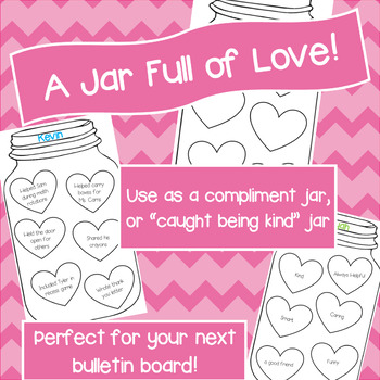 Compliments Jar Worksheets Teaching Resources Tpt