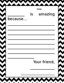 Compliment Letters