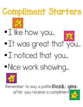 Compliment Starters