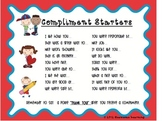 Compliment Starters: Cultivate Thankfulness