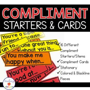 Compliment cards from A to Z