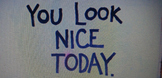 Compliment Tag..... Beginning of the year activity