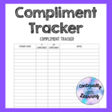 Compliment Tracker