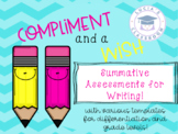 Compliment and a Wish - Assessment & Feedback for Writers!