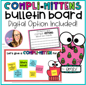 """Compliments Bulletin Board - Our Class """"Compli-MITTENS"""""""