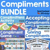 Giving Compliments and Accepting Compliments Bundle with Bulletin Board