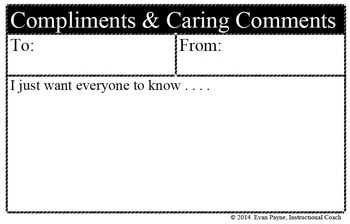 Compliments & Caring Comments