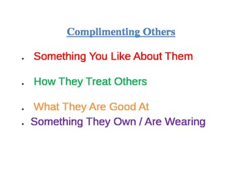 Compliments Game