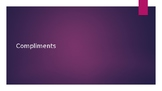 Compliments Powerpoint